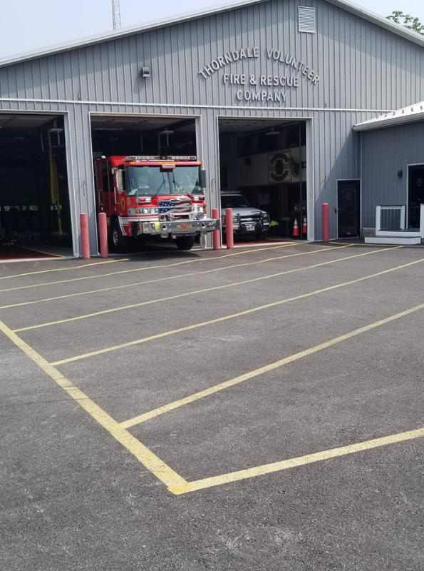 Rescue 36 standing by at Station 38 on Saturday 6/1