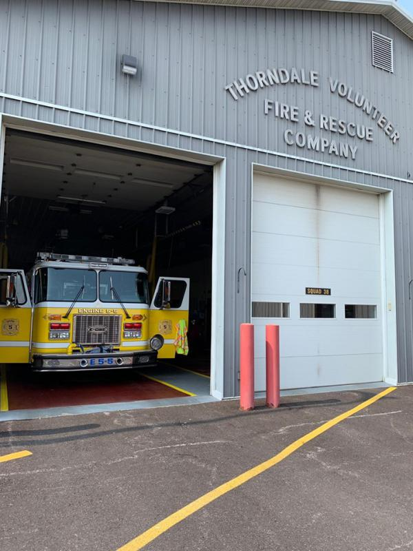 Tanker 5 standing by at Station 38 on Sunday 6/2